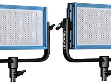 Rent: 2x Dracast LED 500 Pro Bi-Color LED Light w/ Barn Doors