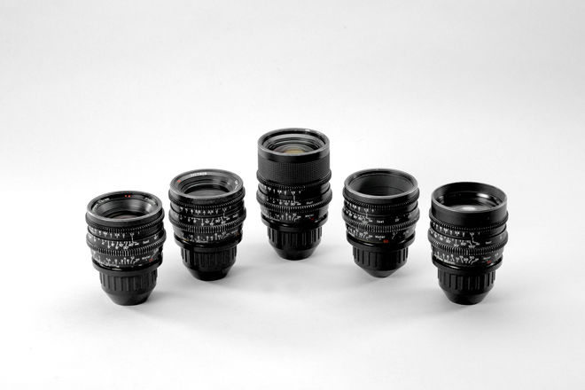 Zeiss Super Speeds MKII T1.3 - 5-Lens Set