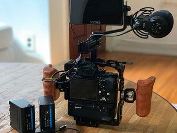 Rent: Sony A7S II + 2 Lenses, Mic, Monitor & Tripod