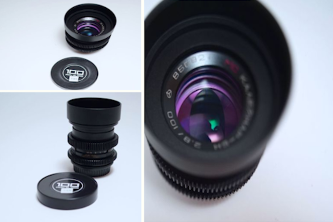 """Anamorphic Mimic 100mm f/2.8 in EF - Close Focus - 2'7""""/0.8m"""