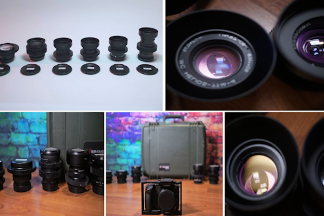 Pana GH5S + Anamorphic Flare Vintage Bokeh - Six Lens Select