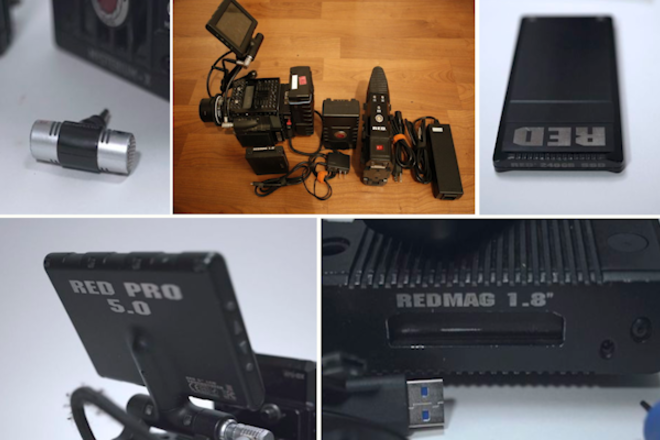 RED Scarlet MX - with 2 128gb cards, 2 batteries