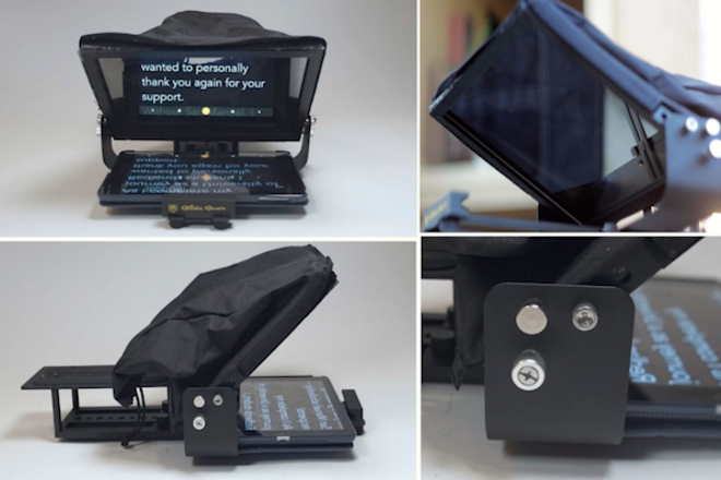Glide Gear Teleprompter & Apple IPad