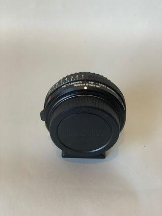Metabones Nikon F/G Lens to MFT Speed Booster