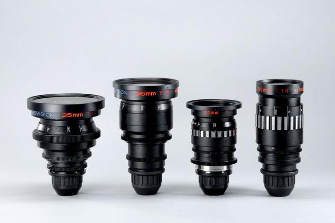 Cineovision High Speed Anamorphic Primes - 2 Lens Set
