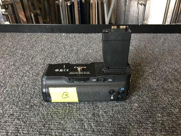 Rent: Canon BG-E8 Battery Grip for EOS Rebel T2i, T3i, T4i & T5i