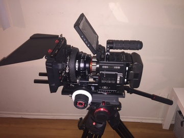 Rent: Red Epic W 8k full shooting package