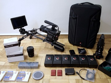Rent: RED Epic-W 8k ReadyToShoot, lots of accessories best package