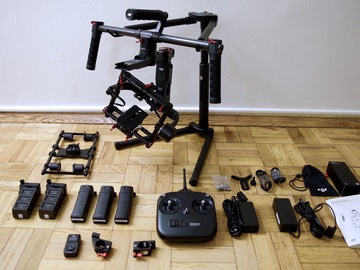 Rent: DJI Ronin MX - best package, ready-to-shoot
