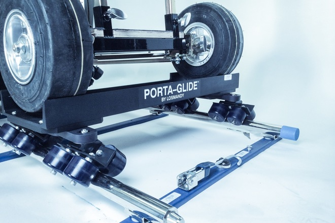 Doorway Dolly Kit w/ Portaglide90 wheels and track