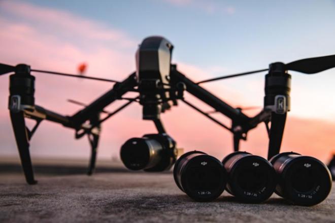 DJI Inspire 2 Quadcopter and X7 camera