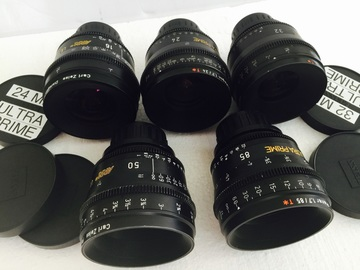 Rent: Ultra prime lenses t 1.9