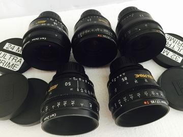 Rent: Ultra prime lenses t 1.9
