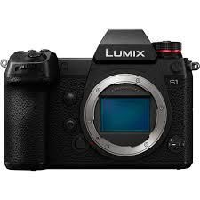 Panasonic Lumix S1 Mirrorless Digital Camera/ef adapter
