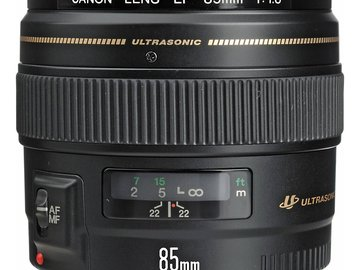 Rent: Canon EF 85mm f/1.8