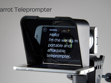 Rent: Parrot Teleprompter V2 & Wireless Remote Kit
