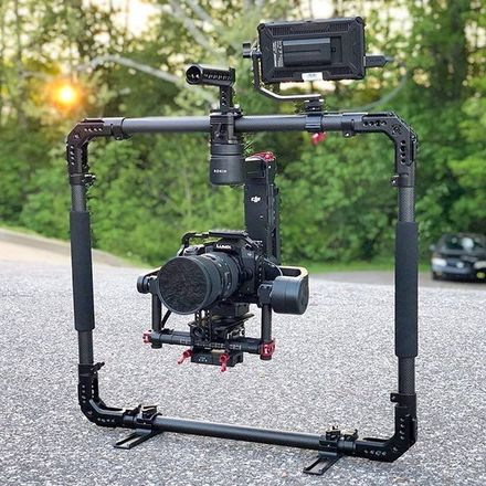 DJI Ronin-M 3-Axis Handheld Gimbal Stabilizer/smallrig ring