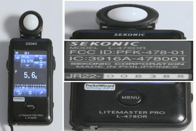 Sekonic Light Meter Litemaster Pro L-478DR