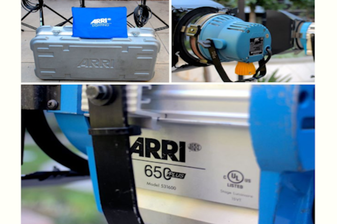 ARRI Tungsten 1 Light + Dimmer / Stand... 1K Watt or Under