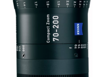 Rent: Zeiss 70-200mm T2.9 Compact Zoom CZ.2 Lens (PL Mount)