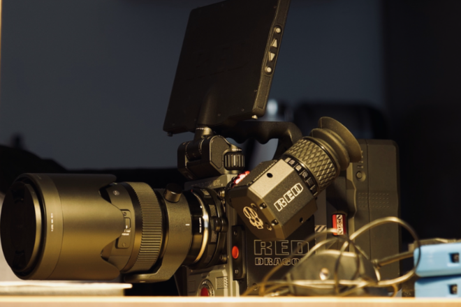 RED Scarlet-W 5K package with lenses