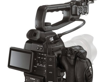 Rent: Canon C100 EF Mount w/ Hand Grip