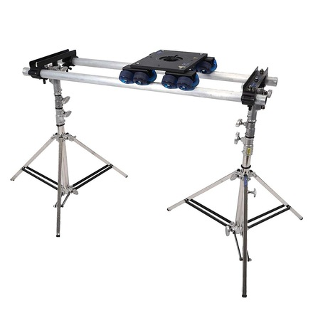 Dana Dolly w/ 6ft Speed Rail and 2x Jr Combo Stands