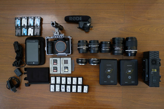 Sony Alpha a7S II Cinema Package