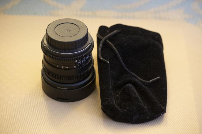 Rokinon Cine 8mm T3.1 Fisheye