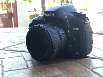 Rent: Nikon D600 w/ 50mm lens