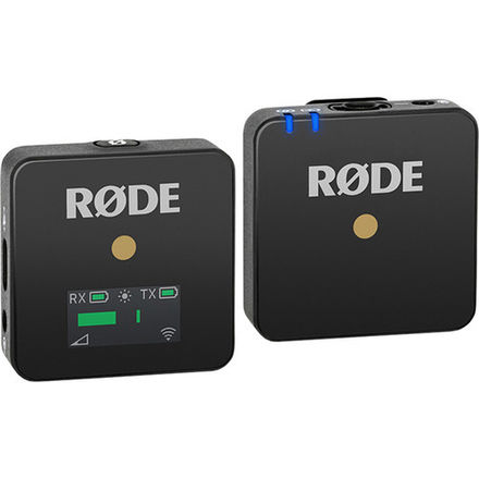 Rode Wireless GO Transmitter & Receiver with Lavalier Mic