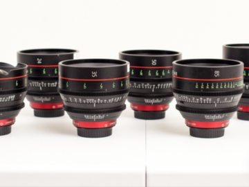 Rent: 2 Canon CN-E prime lenses