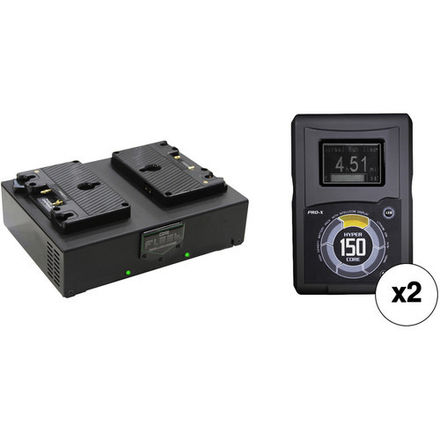 Core SWX Hypercore 150wh Gold Mount Batteries with Charger