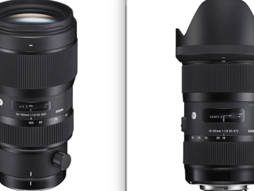 Rent: Sigma 18-35mm f/1.8 & Sigma 50-100 f/1.8 EF MOUNT