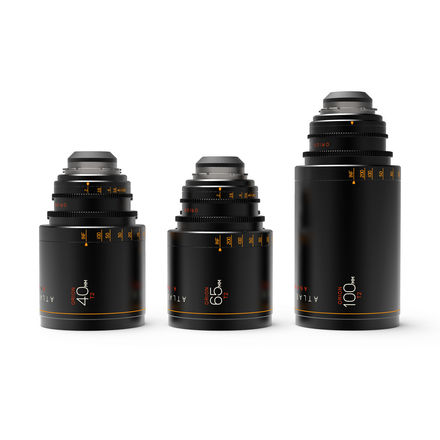 Atlas Lens Co. Orion Series Set A (40, 65, 100mm)
