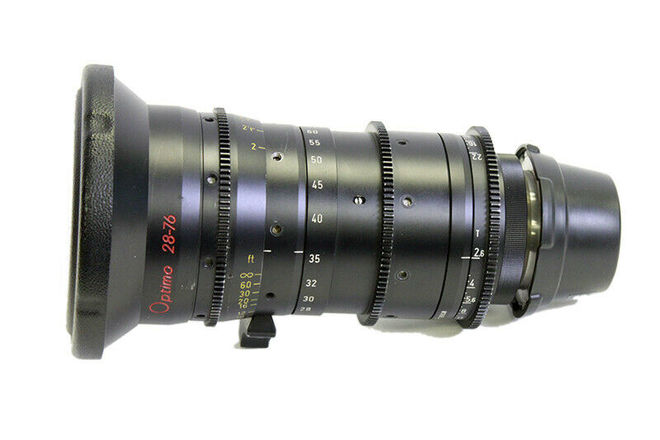 Angenieux Optimo 28-76mm T2.6 PL Zoom Lens