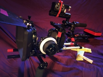 a7sii Package (Atomos Flame/Lighting/Sound w/ Extras)