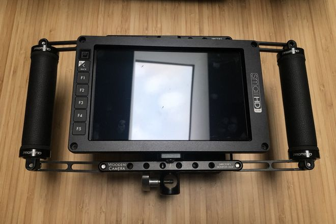 SmallHD 702 OLED & Handheld Directors Monitor Cage
