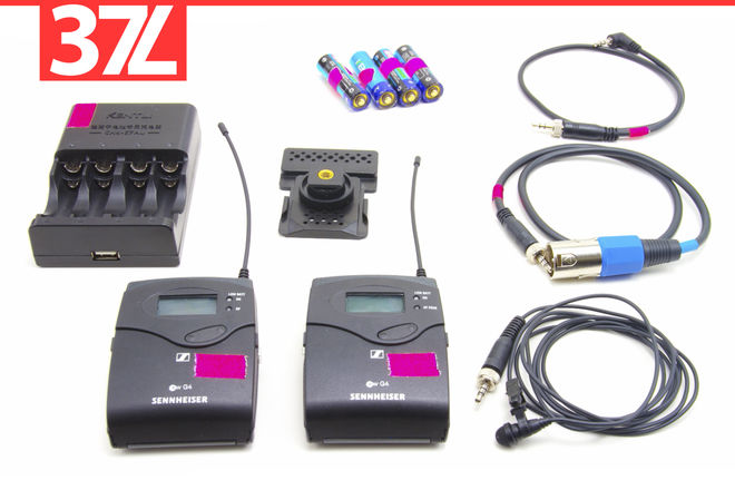 Sennheiser EW-100 ENG G4 Wireless Lav Mic Kit  Lavalier Clip