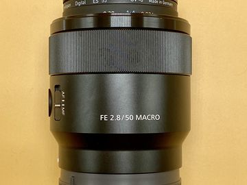Rent: Sony FE 50mm f/2.8 Macro Lens