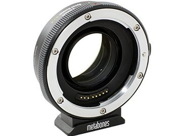 Rent: Metabones Canon EF Lens to Sony E-Mount Camera Speed Booster