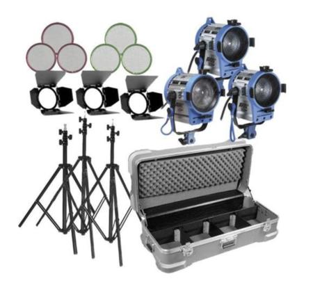 ARRI 3pc Light Kit w/ Chimera Softbox