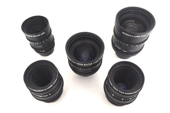 Bausch & Lomb Super Baltar 5x Lens Set