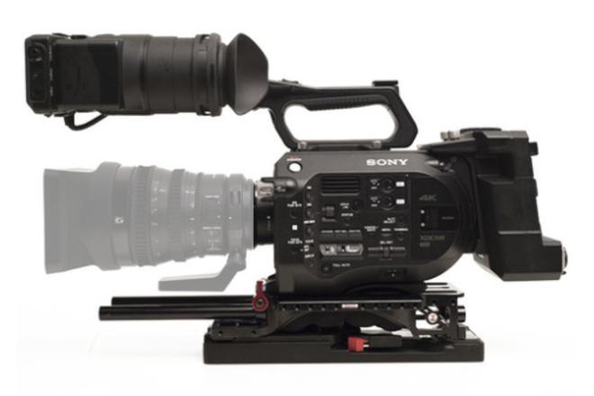 Sony FS7 4K Cam Package w/Shoulder Mount, Metabones & Cards