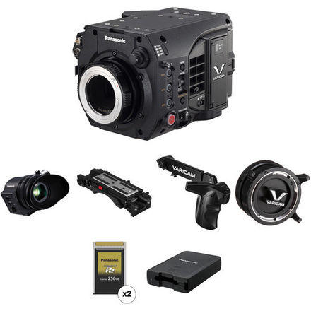 Panasonic Varicam LT ProEx Kit with EF/PL, EVF, (2) 256 Card