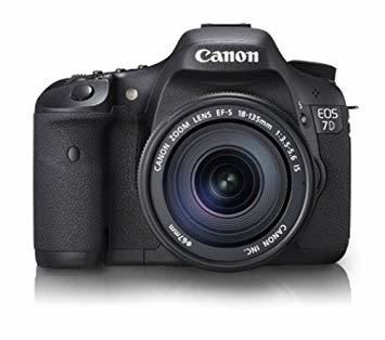 Canon EOS 7D Mark II DSLR Camera with 18-135mm f/3.5-5.6