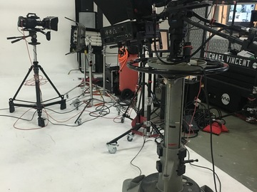 Rent: Blackmagic Broadcasting studio