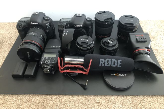 Canon 5D Mark IV and 7D Photography Kit
