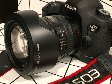 Canon 5D Mark III + 24-105mm Zoom Lens + Accessories