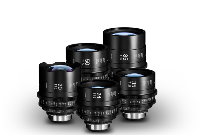 Sigma Cine FF High Speed Prime (One Lens)